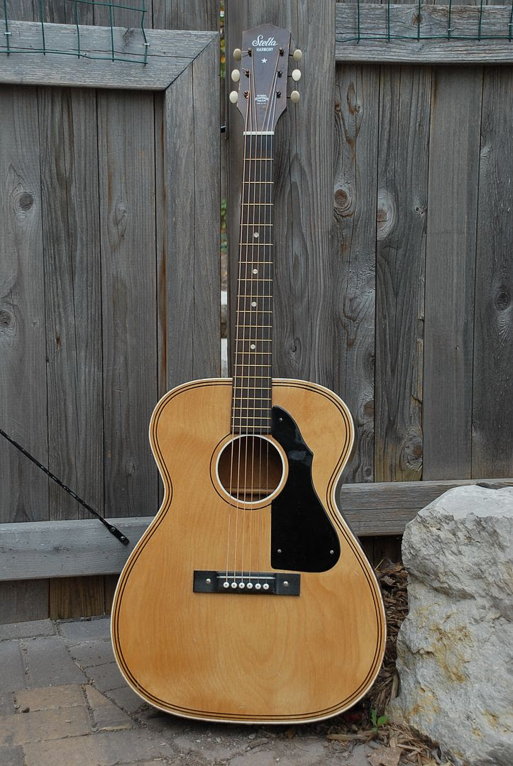 craigslist vintage guitar hunt stella by harmony flat top acoustic nice in green bay wi for 65. Black Bedroom Furniture Sets. Home Design Ideas