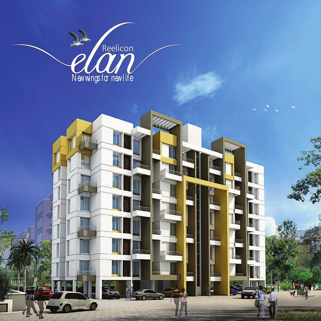 Possession in 20 Months! Reelicon Elan - Single Standalone Parking + 7 Story Building with 2 Lifts & 2 Staircase - Only 48 Units of Budget 1 BHK (24 Units)  & 2 BHK (24 Units) Flats at Sus - Baner Annex - Pune 411021