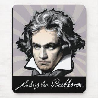 Ludwig van Beethoven mousepad