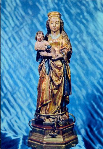 Imagen de la Virgen de Cogullada