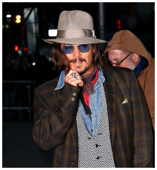 16 O estilo de Johnny Depp