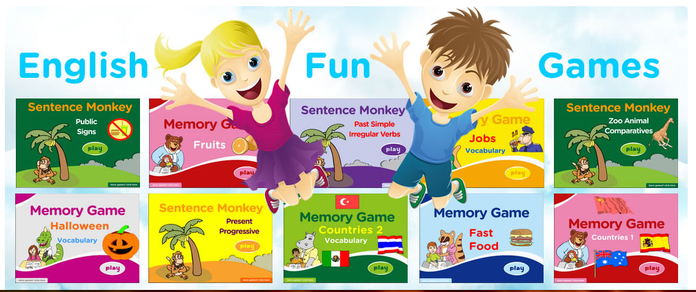 Have fun with English now!