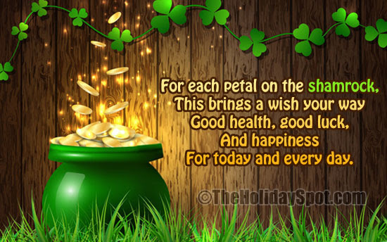 Irish Blessings And Sayings For Patricks Day