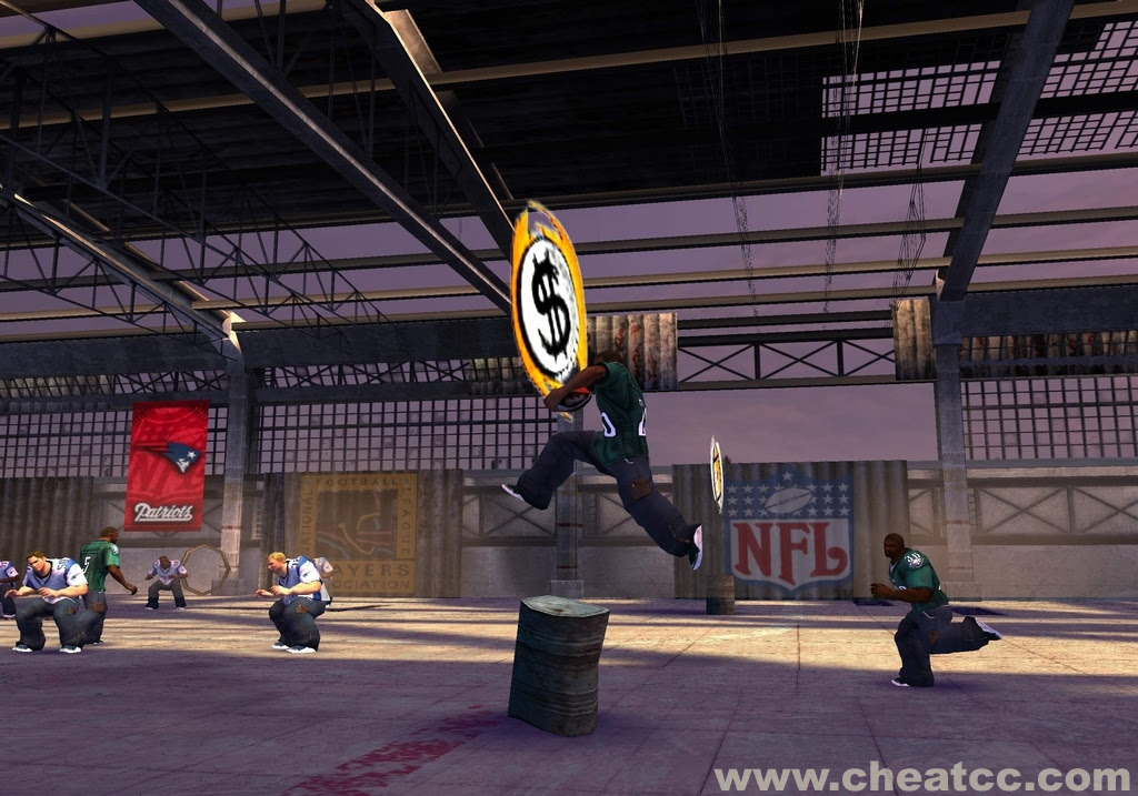 NFL Street 3 Review / Preview for PlayStation 2 PS2