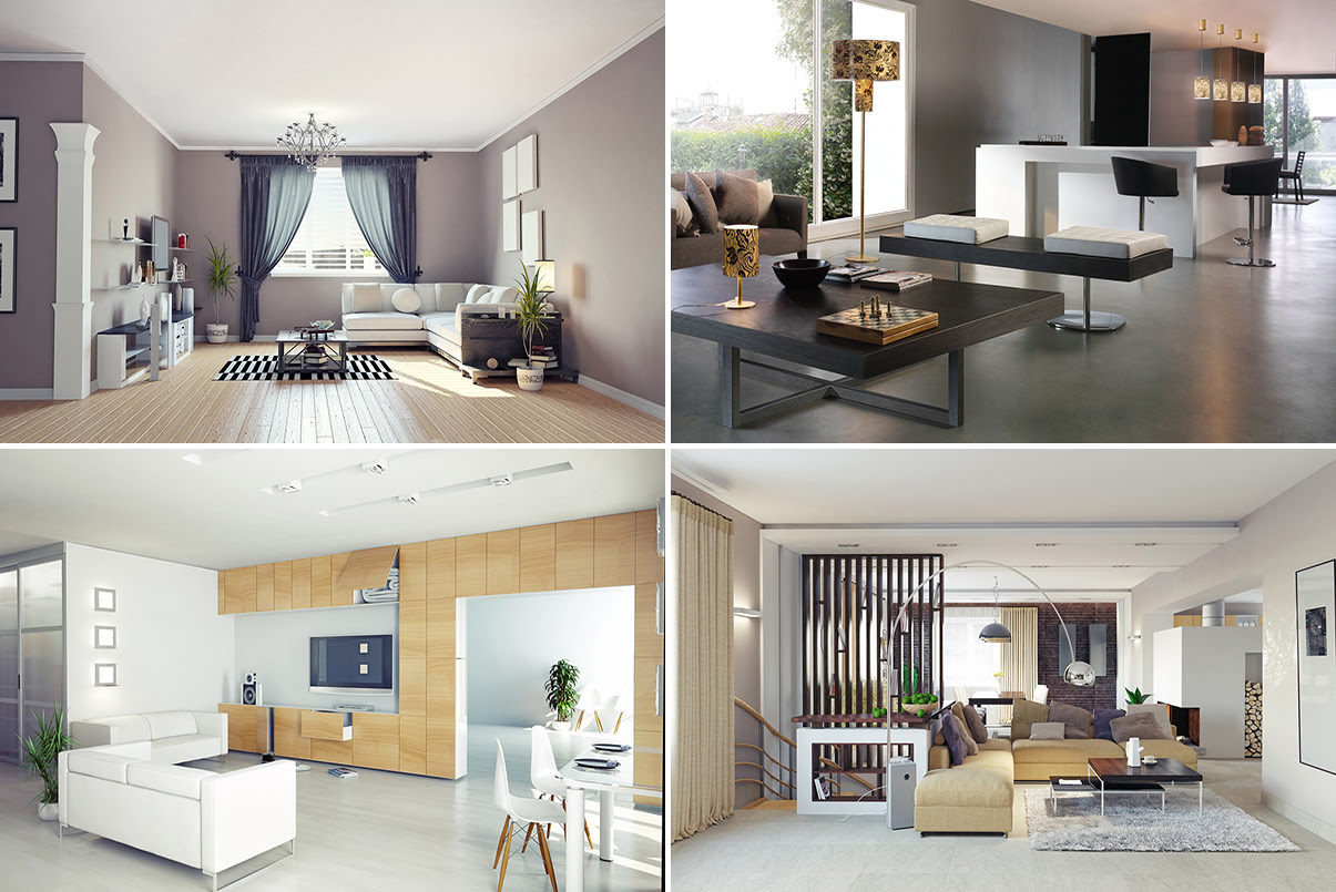 Desain Interior Ruang Keluarga Minimalis Sederhana
