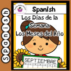 Spanish Days of the Week and Spanish Response Prompt