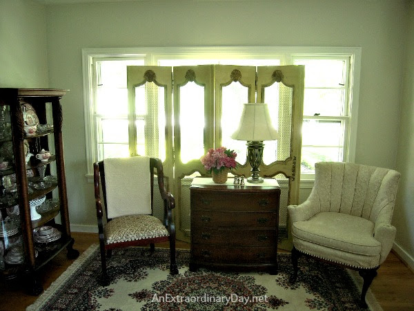 French Provincial Screen DIY :: AnExtraordinaryDay.net