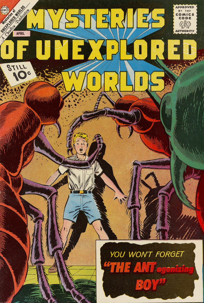 Mysteries of Unexplored Worlds #29 (Charlton, 1963)