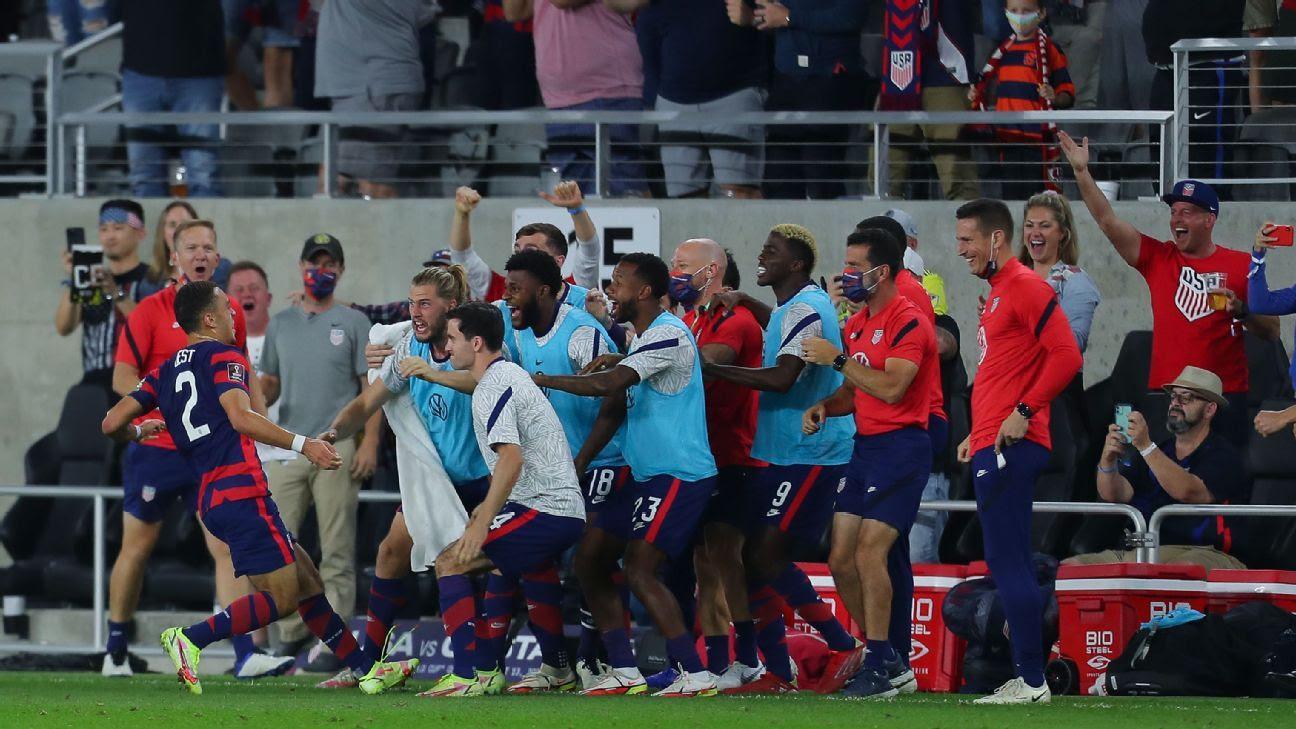 USMNT: Tim Weah, Sergiño Dest goals beat Costa Rica in World Cup qualifying