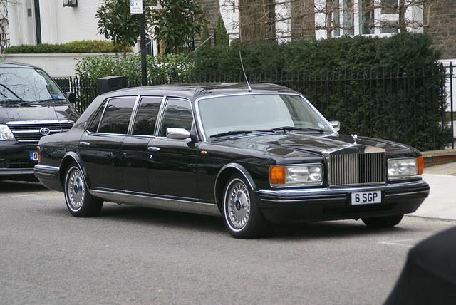 Rolls-Royce Silver Spur III Touring Limousine Park Ward
