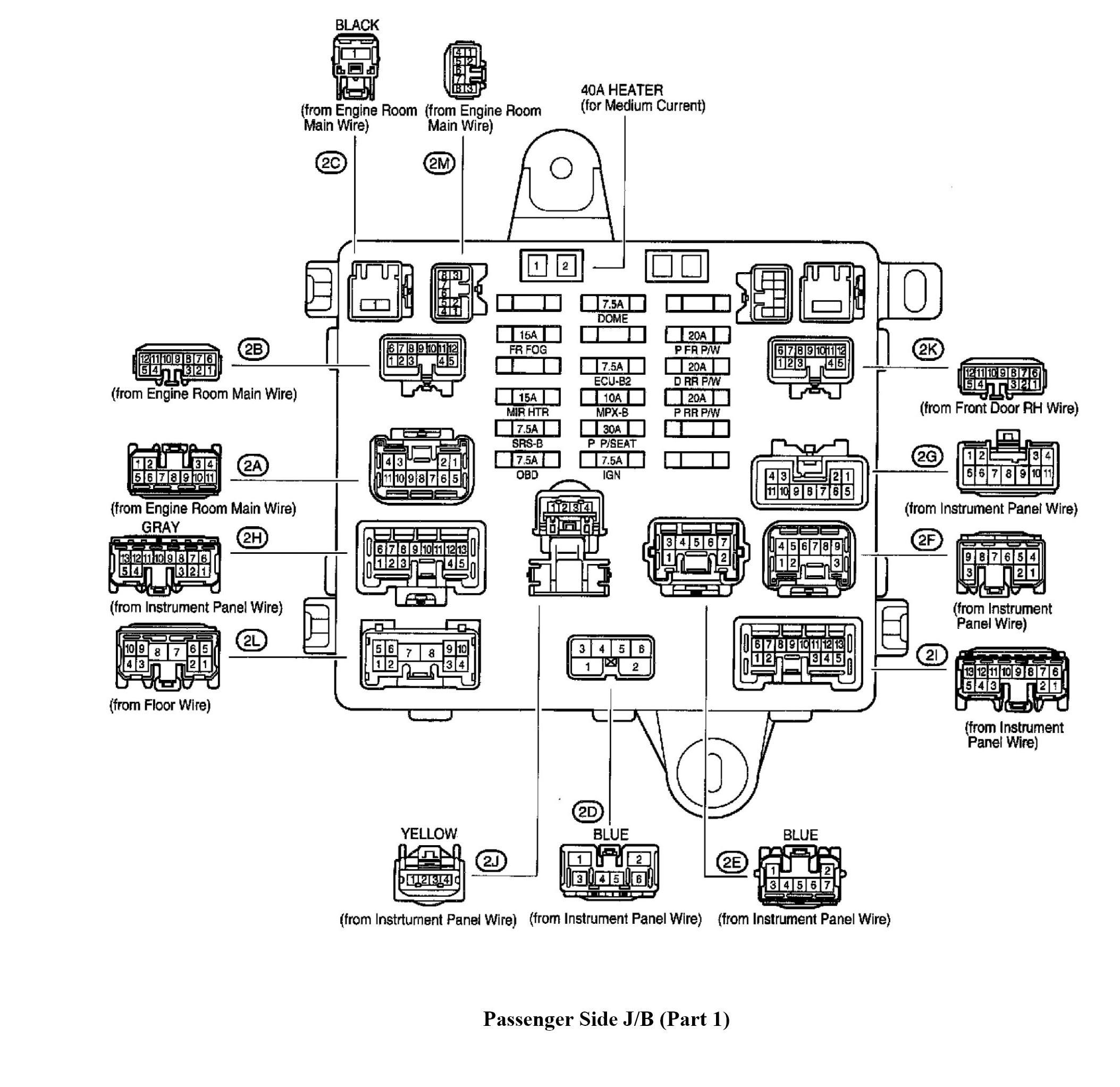 8010 99 Lexus Gs300 Fuse Box Diagram Wiring Resources