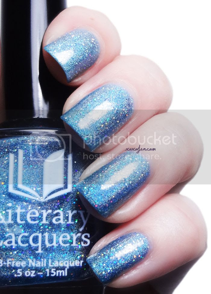 xoxoJen's swatch of Literary Lacquers Always Winter Never Christmas