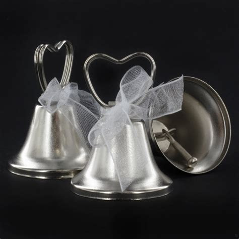 Wedding Bell Place Card Holders Pk12   Unique