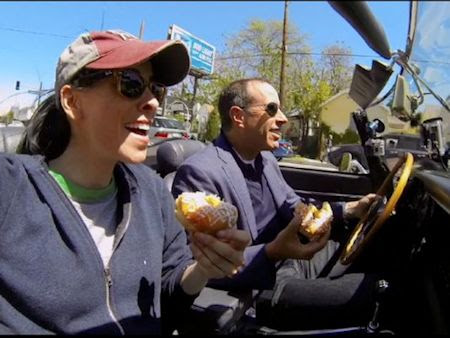 Jerry Seinfeld and Sarah Silverman - Single Shots - Donuts