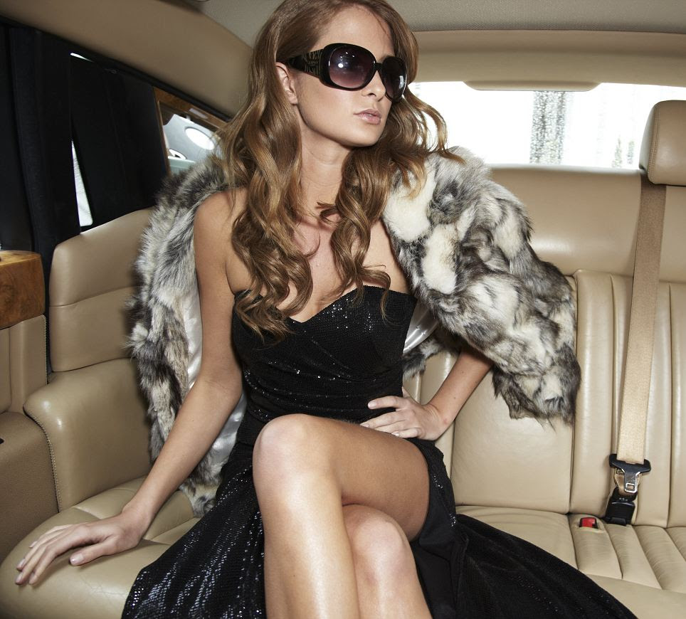 Dress £130.00 Sunglasses £18.00 Coat £85.00 all by Lipsy