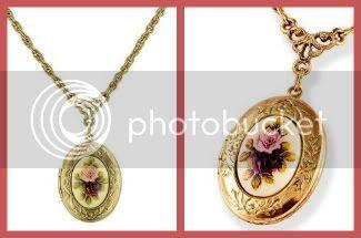 Floral Locket