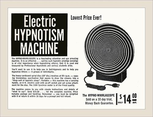 Electric hypnotism machine