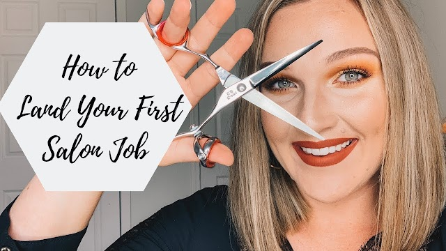 How To Get Job In Salon