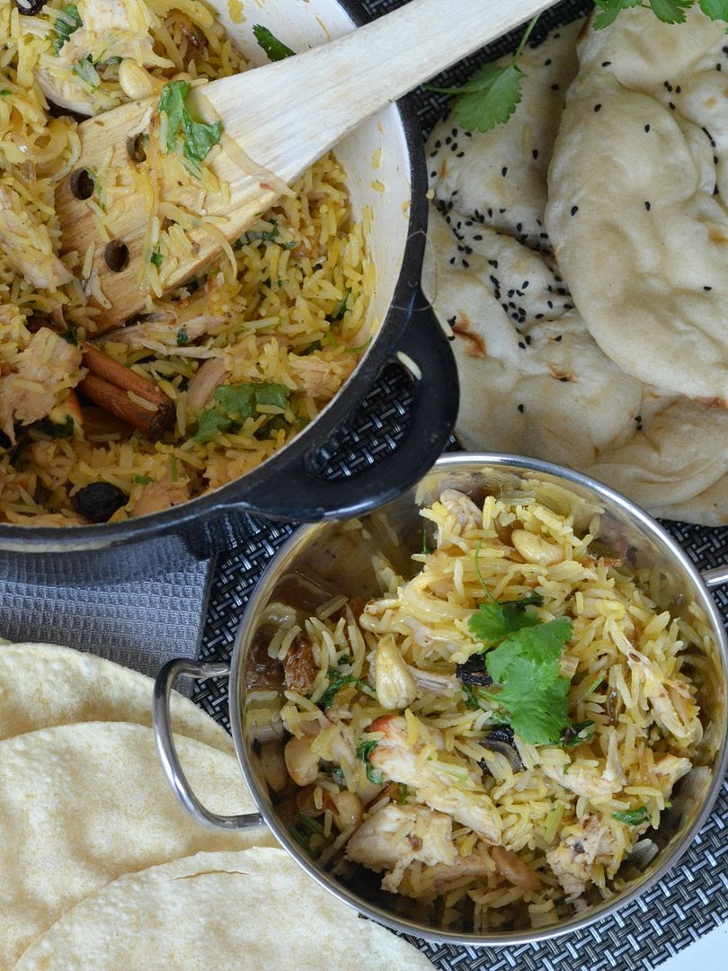 Quick & Easy Fruity Chicken Biryani