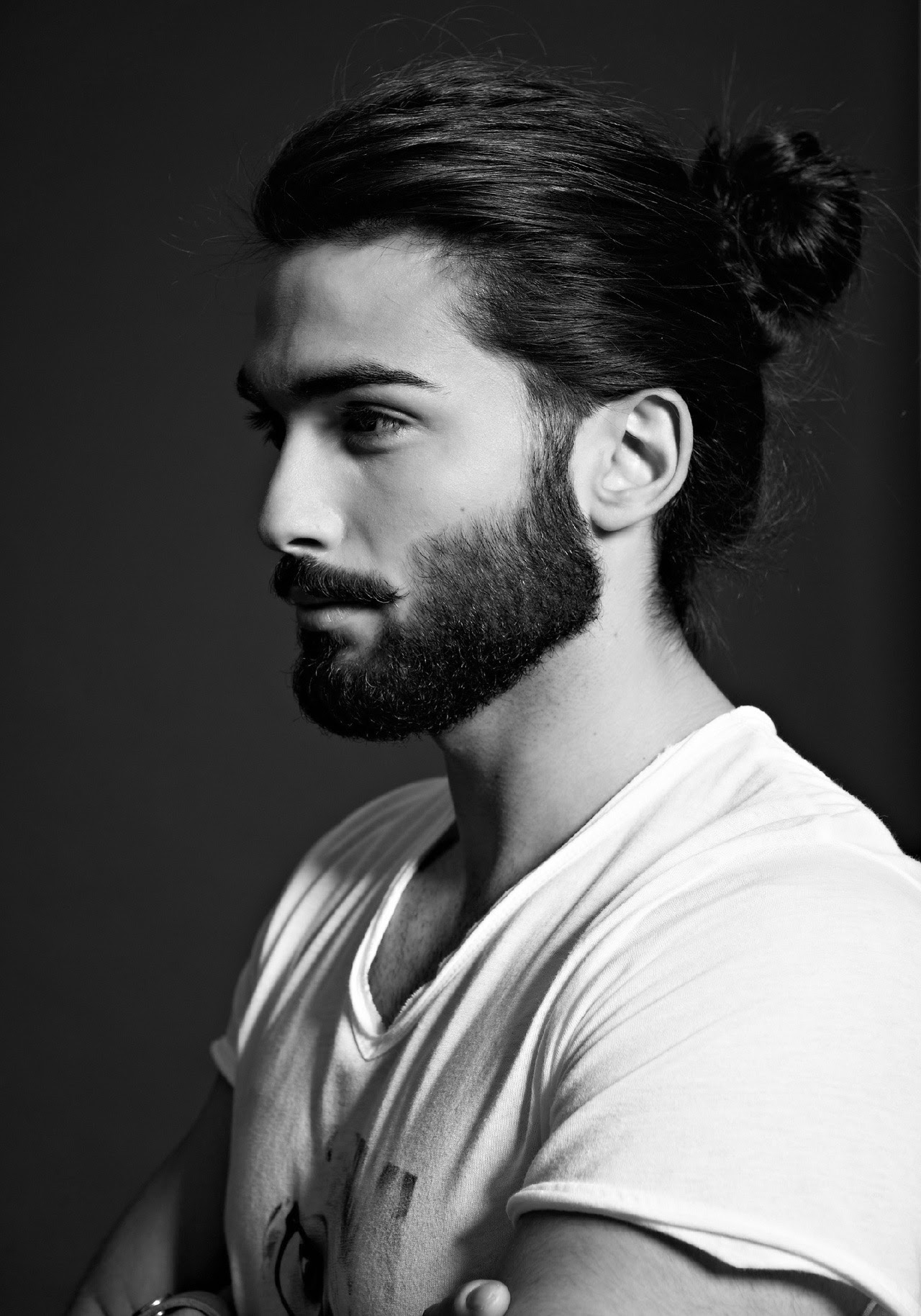 Trendy Sensual Male Top Knots Hairstyles Haircuts And Hair