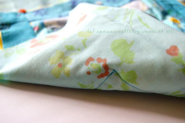 Tutorial: quilt self binding step 2