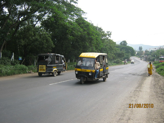 View of Talegaon Chakan Road
