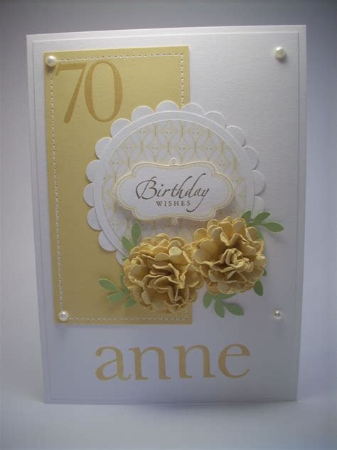 Anne's 70th birthday   Cards   70th birthday card