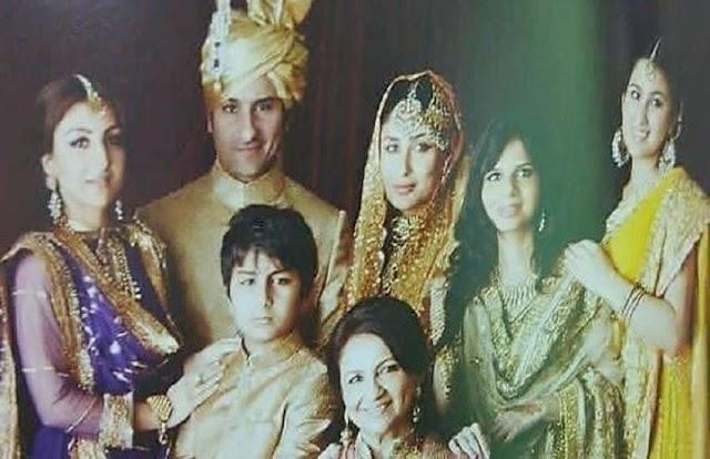 पिता सैफ की शादी में नवाबी अंदाज में पहुंचे थे बेटे इब्राहिम, छोटी मां करीना के दिखे बेहद करीब