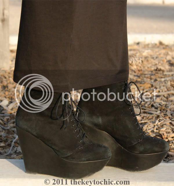 Topshop Amie suede wedges, California fashion blog