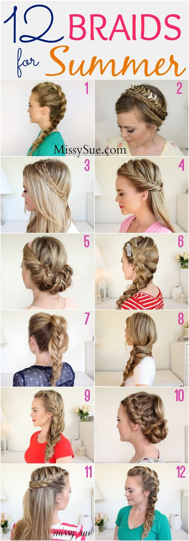 25 Chic Braided Hairstyles for Girls - Pretty Designs