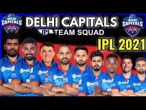 IPL 2021 Delhi Capitals Full Squad | DC Players List IPL 2021 | Delhi Capitals Team IPL 2021