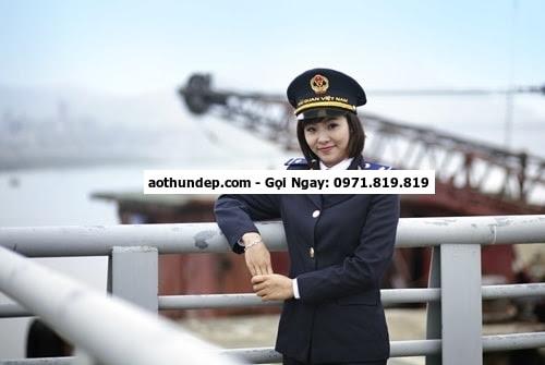 đồng phục ngành hải quan
