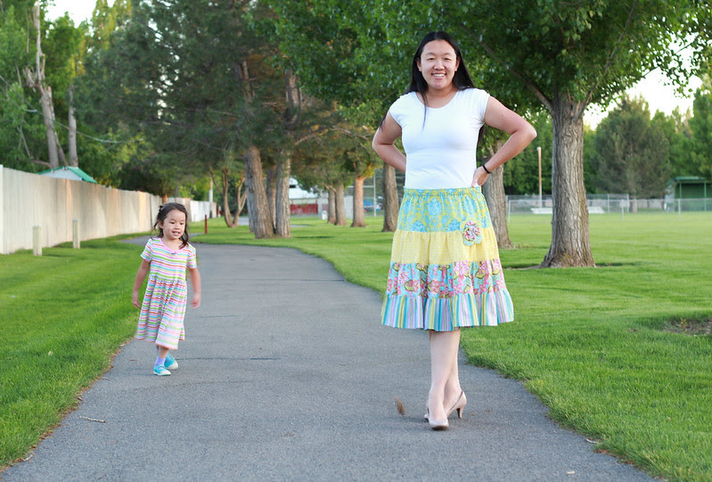 Butterfly Kisses' Emma Skirt by replicate then deviate