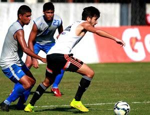 Mattheus é destaque do Flamengo em jogo contra Sindicato dos Atletas (Foto: Gilvan de Souza / Flamengo)