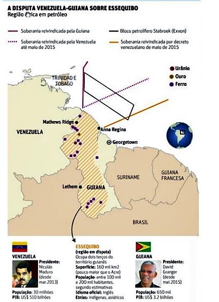 Brasil manda recado a Maduro não ouse invadir a Guiana