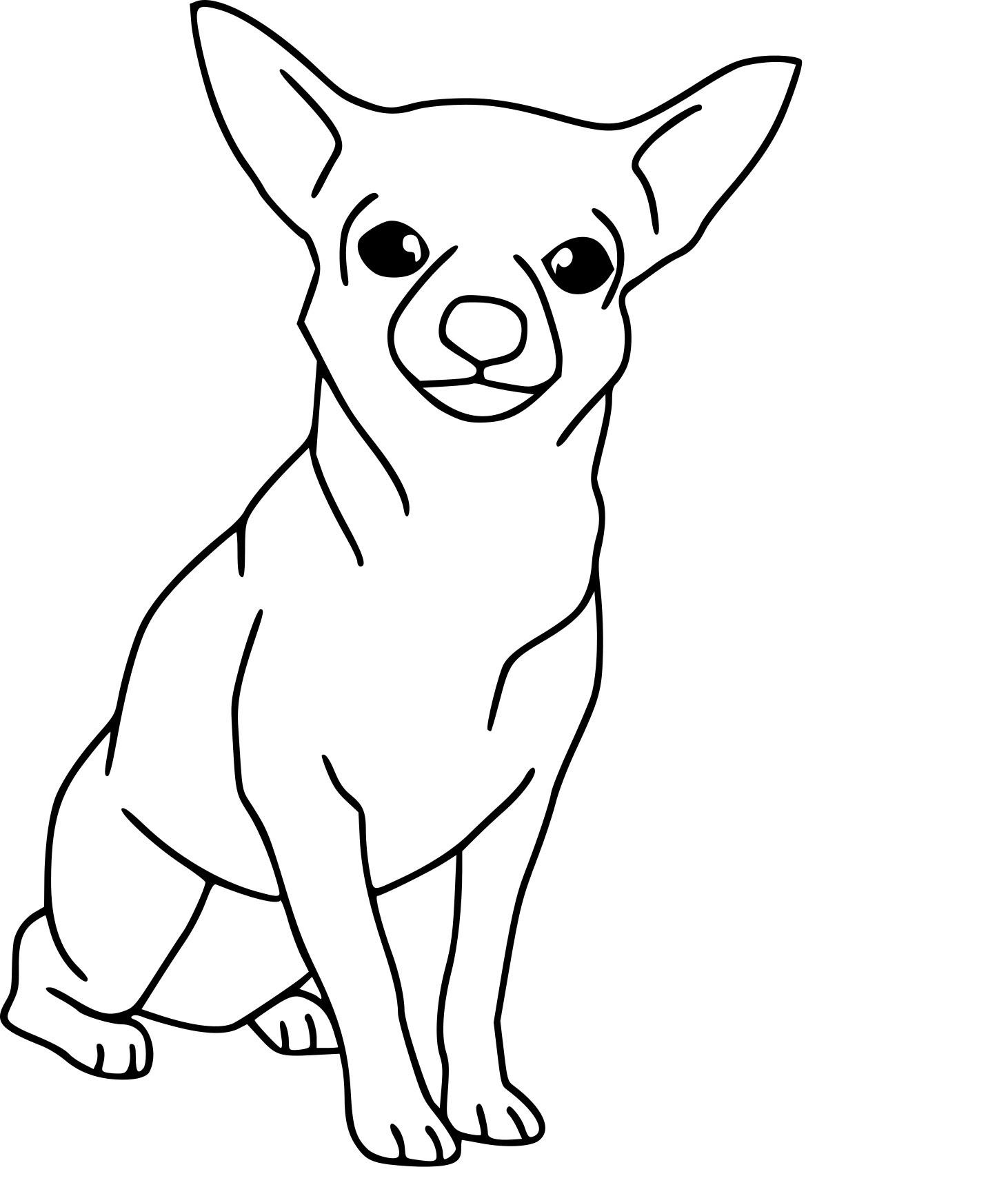 Картинки с маленькими собачками нарисованными