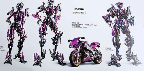 More art concepts of Arcee.