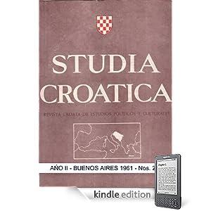 Studia Croatica - número 2 - 1961 (Spanish Edition)