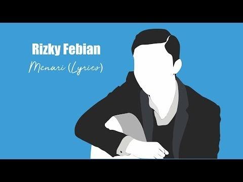 Rizky Febian - Menari (  Lyrics )