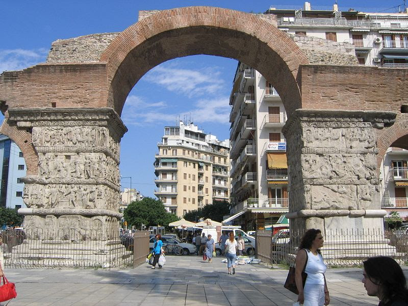 File:Thessaloniki-Arch of Galerius (eastern face).jpg