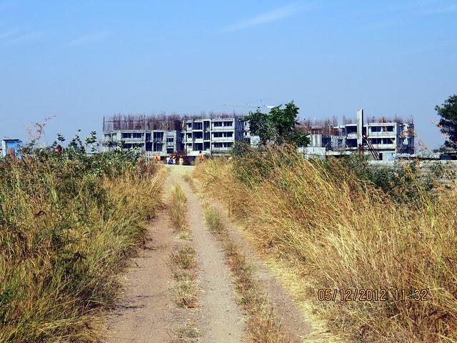 4th Avenue from International School - Development in the 1st Year - Kolte-Patil Life Republic Marunji, Hinjewadi - Kasarsai Road, Pune 411057