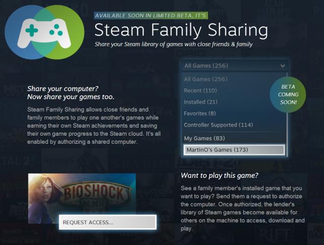 Steam Family Share