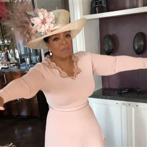 Oprah Wears Stella McCartney Dress to Royal Wedding