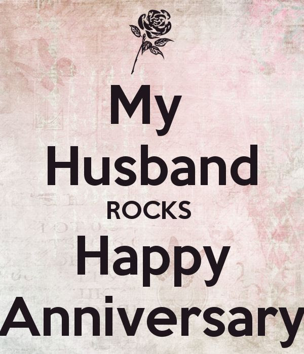 My Husband Rocks Happy Anniversary Pictures Photos And Images For