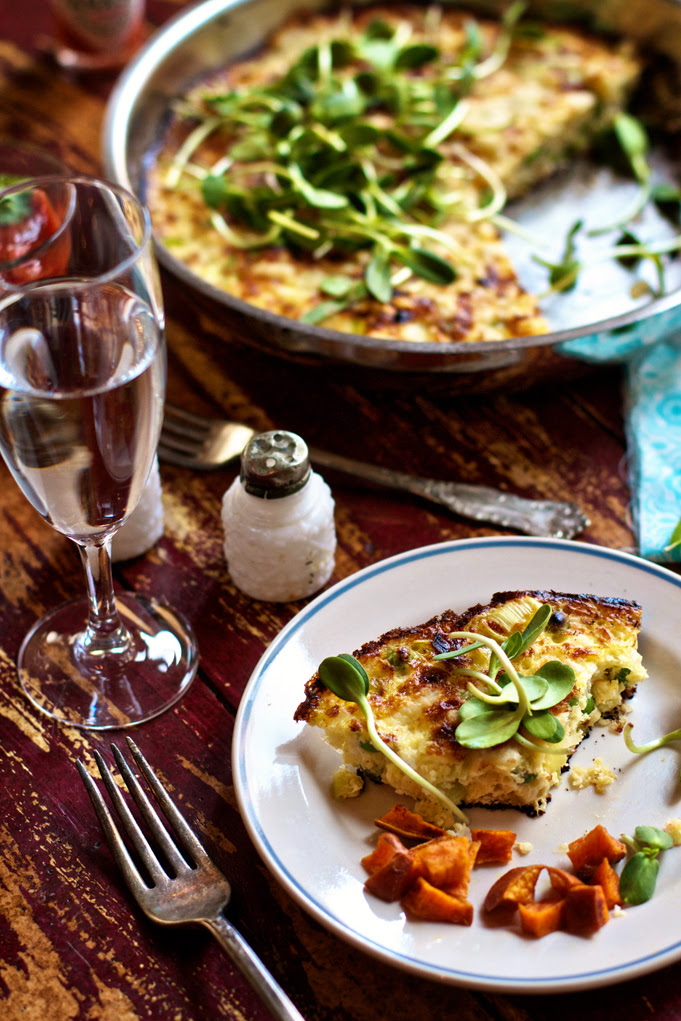 Peas Cheese Frittata Marla Meridith Photography-IMG_3782