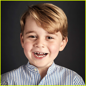 Prince George's New Birthday Portrait is So Stinkin' Cute!