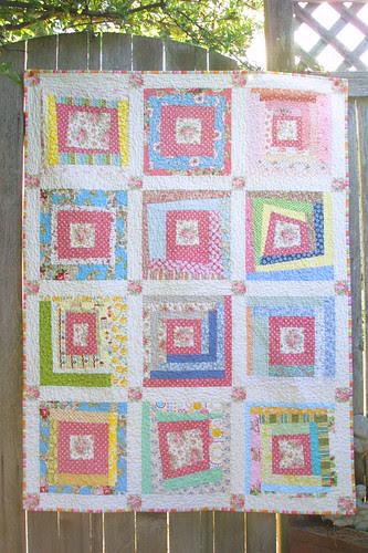 My Virtual Quilting Bee quilt