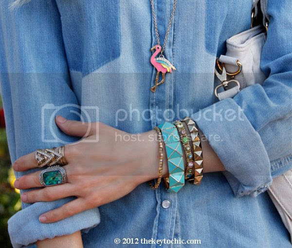chambray shirt, Motel Jodie jeans, southern California fashion blogger, Los Angeles style