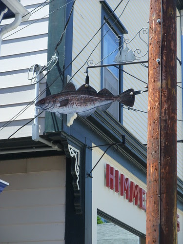 Lunenberg fish sign