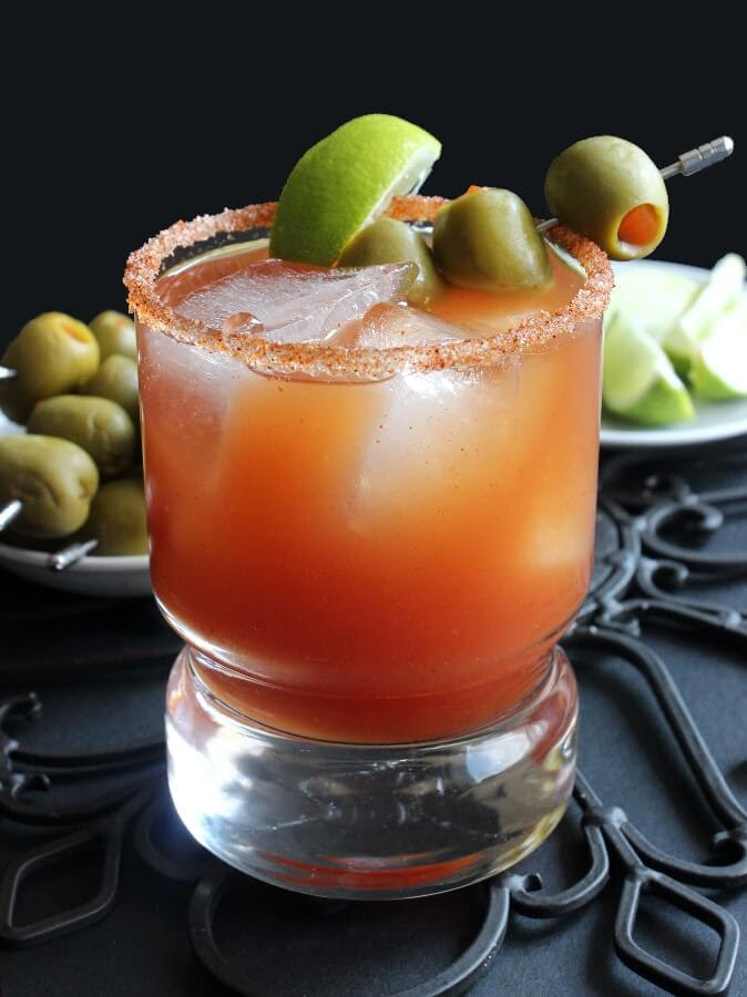 Michelada - The Mexican Bloody Mary | Vegan in the Freezer